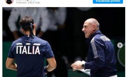 """Dopo 20 anni Barazzutti non è più il Capitano di Davis: il """"grazie"""" di Fabio Fognini"""