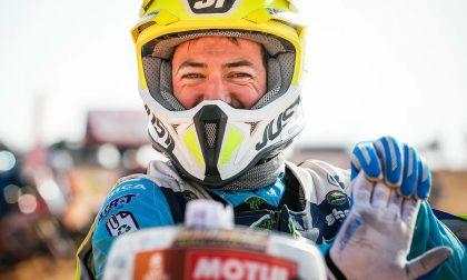 Dakar, soccorre un pilota dopo una brutta caduta, Maurizio Gerini orgoglio ligure