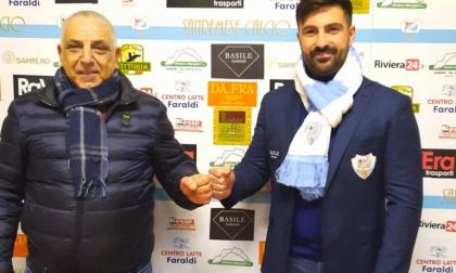 Matteo Andreoletti riconfermato allenatore della Sanremese