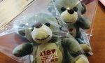 """Un """"amico orsacchiotto"""" in regalo ai bimbi soccorsi in Liguria"""