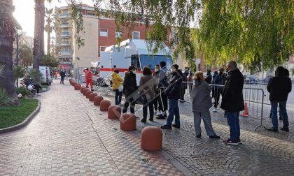 Covid: test antigenici su 213 volontari a Ventimiglia, 2 sono positivi