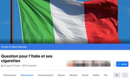 Francesi creano gruppo  Facebook per comprare le sigarette in Italia