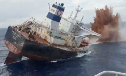 Affondare navi della Marina Militare per ripopolare i fondali
