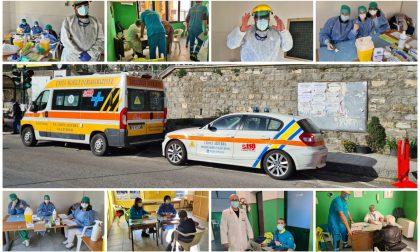 La lotta al Covid in Val Nervia: aperto le vaccinazioni a Isolabona. Foto