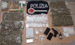 Giovani arrestati con 2 kg di marijuana nel trolley