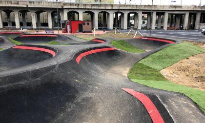 Inaugurati il parco giochi e la pump track di Castelvecchio