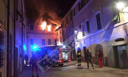 Indagati madre e figlio per l'incendio con esplosione di San Bartolomeo al mare