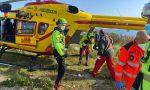 Coppia in difficoltà sul monte Grammondo, interviene l'elicottero