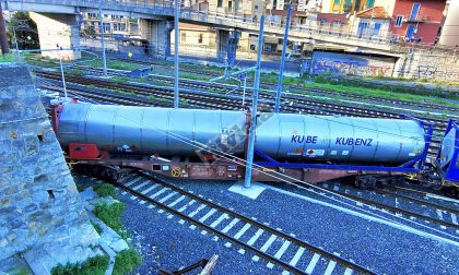 Probabile errore umano dietro il deragliamento del vagone cisterna a Ventimiglia