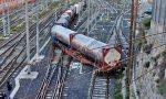 Deraglia vagone cisterna di ossido di etilene alla stazione di Ventimiglia, per miracolo era vuoto