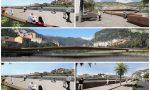 In anteprima i rendering della nuova passerella di Ventimiglia. Foto