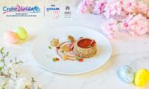 La pastry chef Simoncelli e un dolce per i malati di Crohn