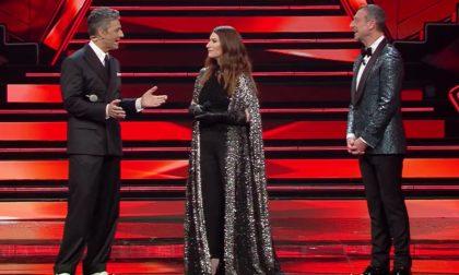 Il premio Golden Globe Laura Pausini al Festival