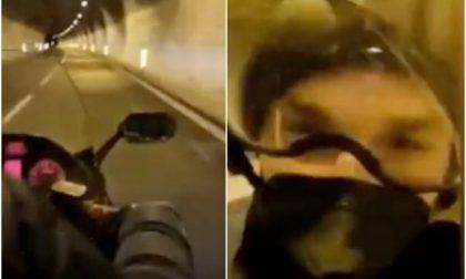 """""""Ibra chiede se lo puoi portare a Sanremo"""" il racconto del motociclista"""