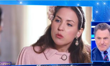 Erika nelle vesti di Kate Middleton su Canale 5