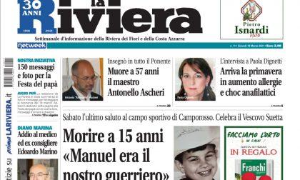 """La Riviera oggi in edicola: in regalo i """"Semi di ravanello"""" e tante esclusive"""