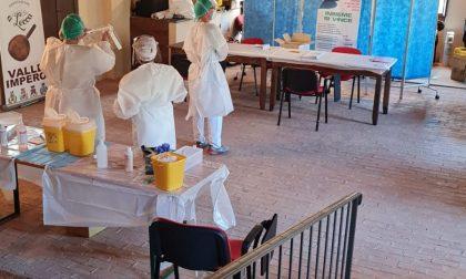 Iniziata la vaccinazione degli over 80 in Valle Impero