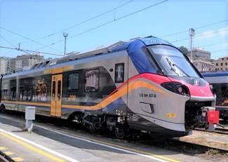 Tre nuovi treni regionali in servizio in Liguria