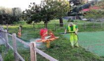 Al via la sanificazione delle aree gioco a San Bartolomeo