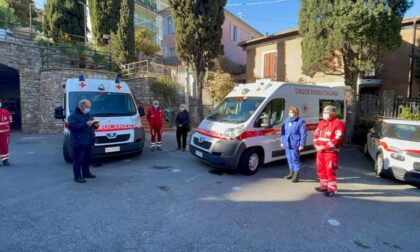 Benedette due nuove ambulanze della Croce Rossa di Imperia
