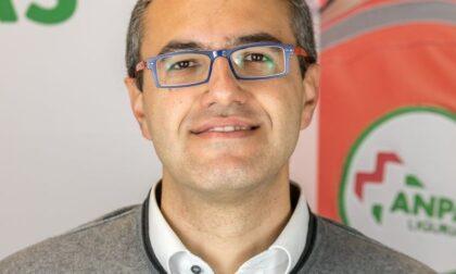 Diego Marrese vice presidente di Anpas (l'associazione delle pubbliche assistenze) in Liguria