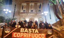 """Flash mob di Fratelli d'Italia davanti al Casinò per dire """"Basta al coprifuoco"""""""