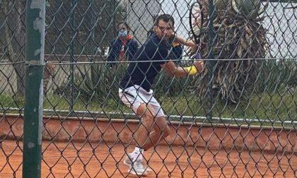 Il tennista Dimitrov (numero 17 del ranking Atp) si allena a Bordighera