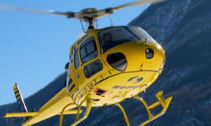 Un elicottero per controllare la rete elettrica in provincia di Imperia