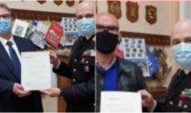 In congedo due storici militari dei Carabinieri