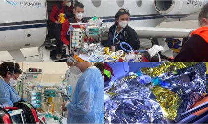 Missione aerea dal Kosovo per salvare un bimbo di una settimana