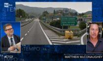 Matthew McConaughey e quell'incidente in moto in Liguria