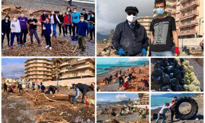 Domenica 25 aprile pulizia straordinaria delle spiagge a Ventimiglia