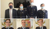 Tre nuovi funzionari di polizia in servizio alla Questura di Imperia. Video