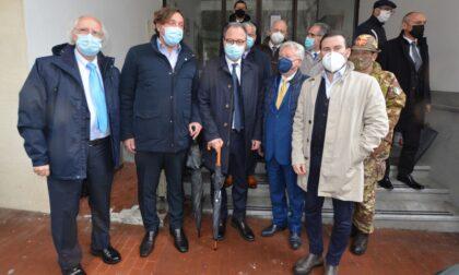 Il sottosegretario alla Difesa Mulè a Ventimiglia per un vertice con prefetto e sindaco