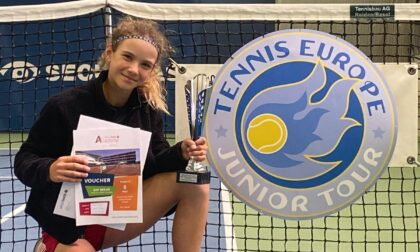 "Angelica ""Geky ""Sara vince anche il Tennis Europe in Svizzera"