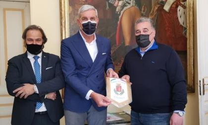 Amarcord a Palazzo Bellevue con l'ex portiere di Juventus e Sanremese Renato Carraro