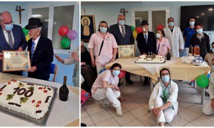 Casa Rachele festeggia i 100 anni dell'orologiaio Pasquale