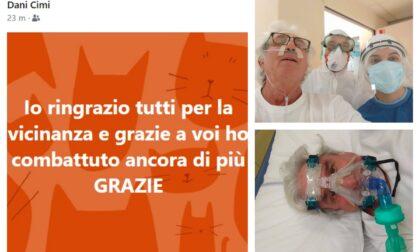 """Guarito dal Covid Daniele Cimino: """"La polmonite è passata"""""""