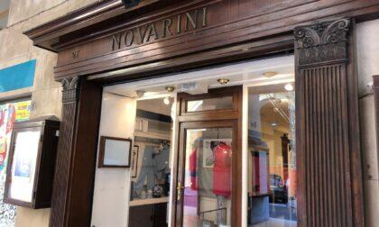 Chiude lo storico negozio Novarini