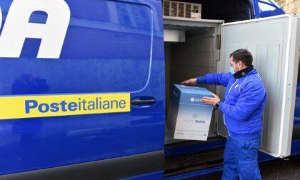 Poste Italiane: domani nuovi dosi di AstraZeneca in consegna al Borea