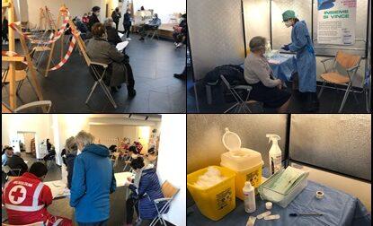 Iniziate le vaccinazioni over 70 in Alta Valle Arroscia