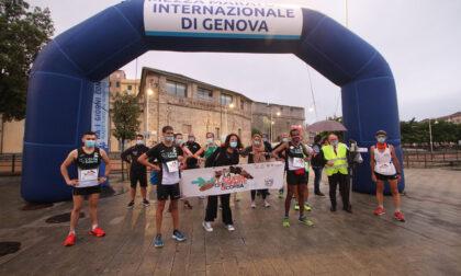 Da Ventimiglia a La Spezia di corsa per raccogliere fondi
