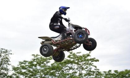 Il sanremese Patrick Turrini guida il campionato di Quadcross