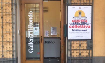 In Piazza Dante una mostra pittorica dedicata a Oneglia