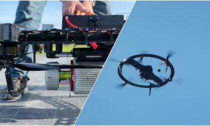 """Super droni a """"disco volante"""" in volo sull'estremo ponente ligure"""
