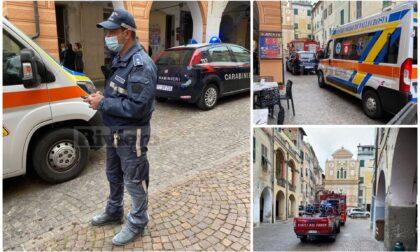 Camporosso: incendio in cucina, vicecomandante polizia locale salva anziano e badante