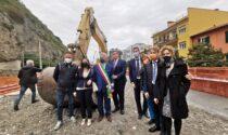 """A Ventimiglia il primo """"colpo di benna"""" per il mega parking di corso Genova"""