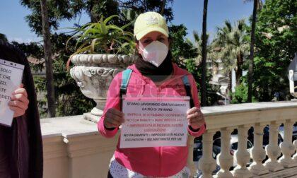 """Imperia: """"Sei mesi senza stipendio"""", protesta davanti alla Prefettura della coop che gestisce i migranti"""