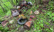 Bonifica dell'Antica Via del Sale, rimossa una tonnellata di rifiuti
