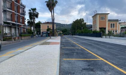 Completata la prima parte del secondo lotto dei parcheggi a Diano Marina